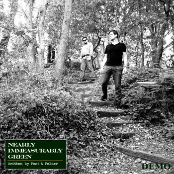 """Nearly Immeasurably Green"" cd-cover"